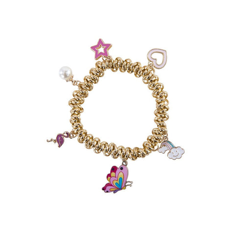 Charm-ed and Chain Bracelet