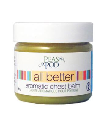 Peas In A Pod - All Better Aromatic Chest Balm 50g