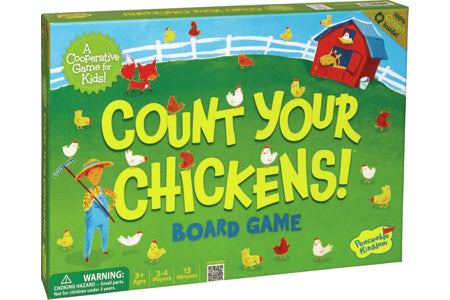 Count your Chickens Board Game - A Co-Operative Game from Peaceable Kingdom