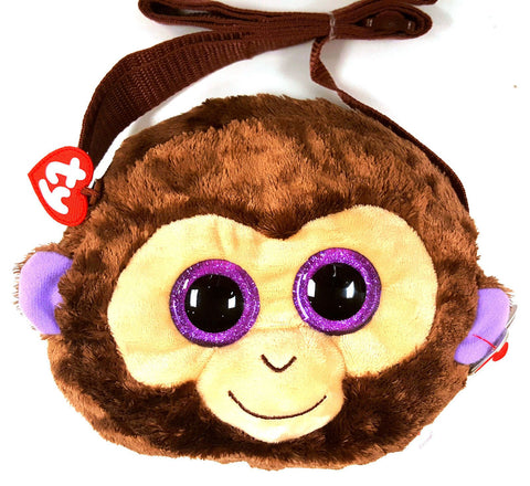 Coconut the Monkey - Beanie Boo Shoulder Purse