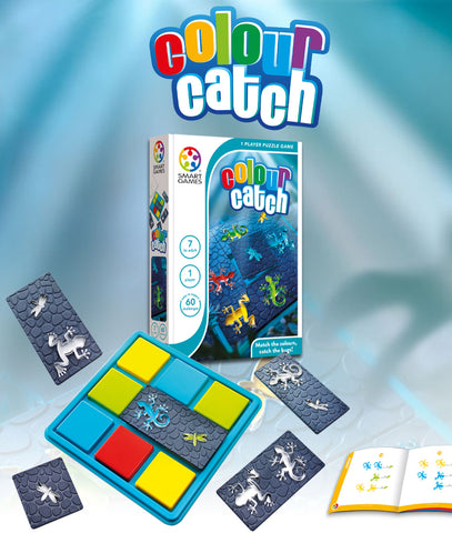 Colour Catch  - Smart Games 1 Player Puzzle Game 7 to Adult