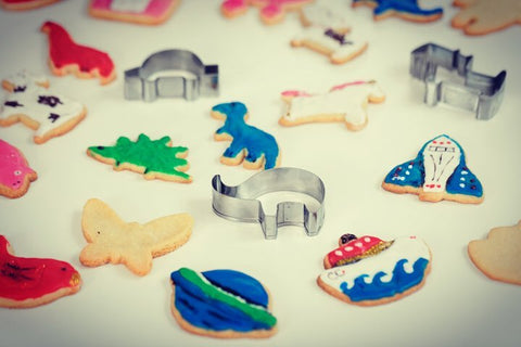 Let's Bake Cookie Cutter Set by Crocodile Creek