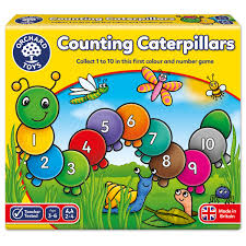 Counting Caterpillars - Orchard Toys Educational Game Ages 3-6 Years