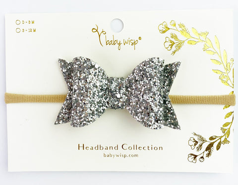 Baby Wisp Courtney Glittery Headband Collection