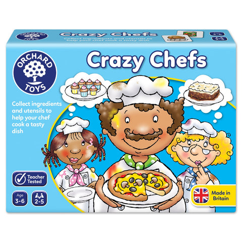 Crazy Chefs - Orchard Toys Fun Matching Game ages 3 - 6 years.