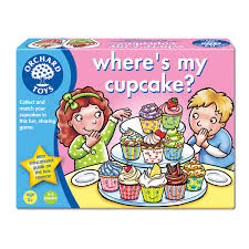 Where's My Cupcake?  - Orchard Toys Educational Sharing Game Age 3 - 6 Years