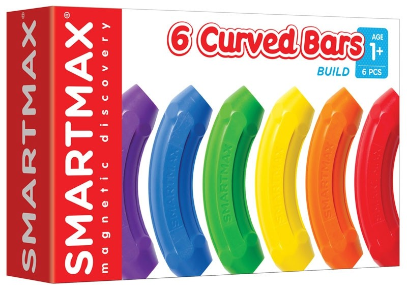 SmartMax Magnetic Extension Set - 6 Curved Bars