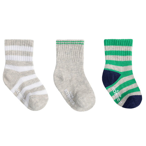 Robeez Infant Socks - Daily Dave Green