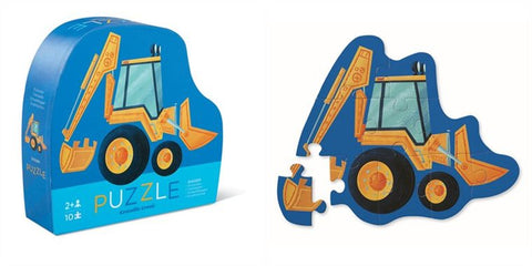 12 Piece Mini Jigsaw Puzzle - Digger
