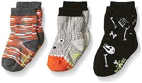 Robeez Infant Socks - Dino Dan 3 Pack Glow in Dark