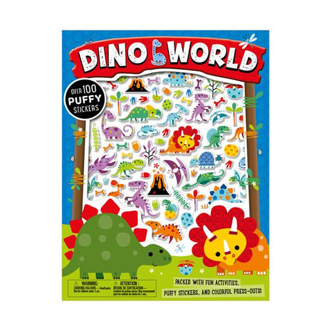 Dino World Activity Book with Stickers