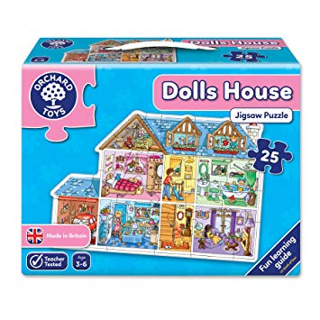 Dolls House Jigsaw Puzzle - 25 Pieces by Orchard Toys