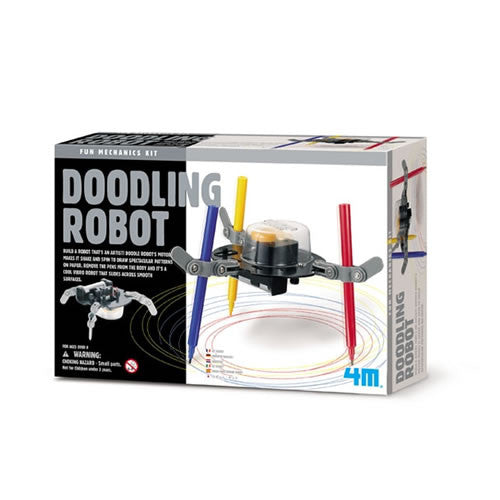 4M Doodling Robot - Science Building Kit