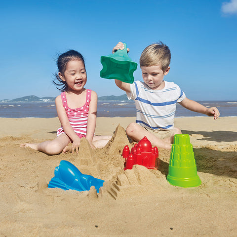 Mayan Pyramid Mould from Hape - Beach / Bath / Water Table Toys