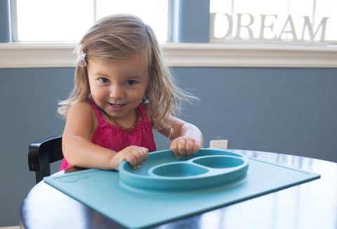 EZPZ Happy Mat - Infant / Toddler Suction Plate
