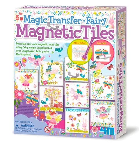 4M Magic Transfer Fairy Magnetic Tiles Craft Kit