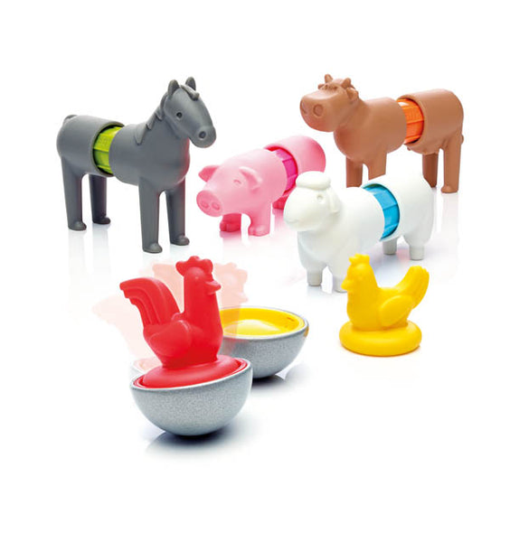 SmartMax Magnetic Play Set - My First Farm Animals