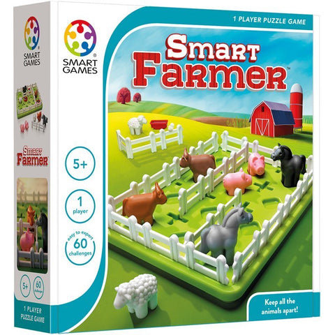 Smart Farmer  - Smart Games 1 Player Puzzle Game 5 Years +