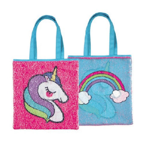 Magic Sequin Unicorn Reveal Tote Bag