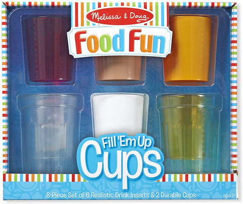 Melissa and Doug Food Fun - Fill 'Em up Cups