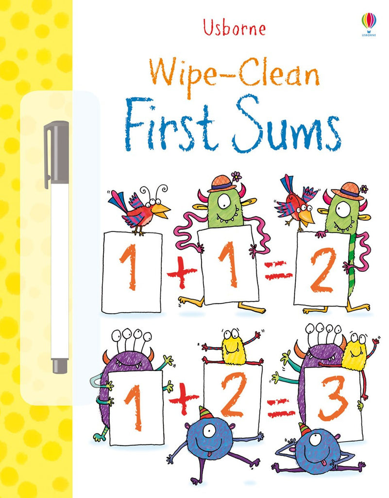 Worksheet Firstmath wipe clean first sums math carousel kids math