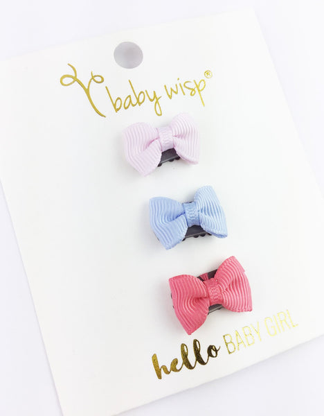 Baby Wisp Mini Latch Clips - Set of 3 Charlotte