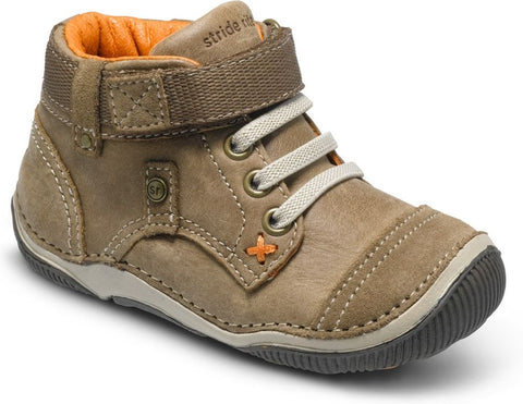 Stride Rite SRT Garrett High Top Sneaker - Brown