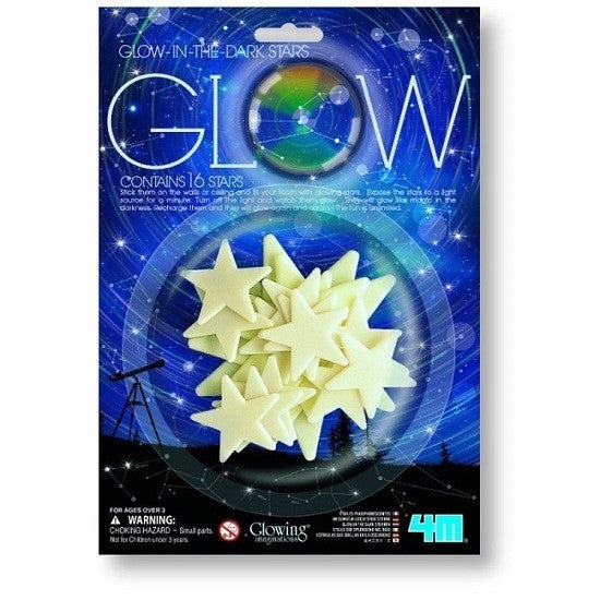 Glow in the Dark Stars - Pack of 16