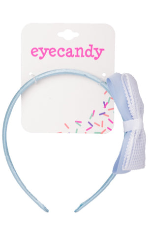 Eyecandy Headband with Lace Bow