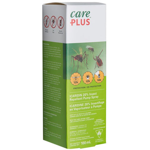 Care Plus Insect Repellent  Bug Spray - Protection Against Ticks and Mosquitoes