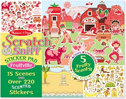 Scratch & Sniff Stickers Fruitville