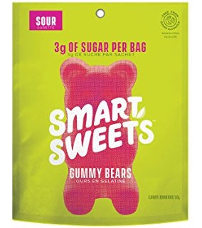 Smart Sweets - Sour - Low sugar gummy bears