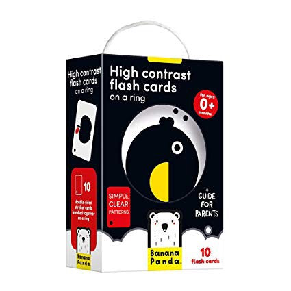 Banana Panda High Contrast Flash Cards for Infants
