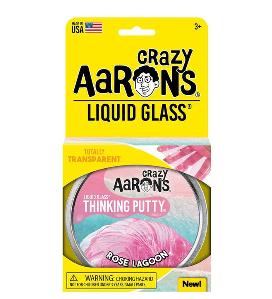 Crazy Aaron's Thinking Putty -Rose Lagoon