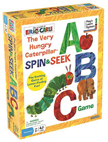 Eric Carle's The Very Hungry Caterpillar Spin and Seek  ABC Game