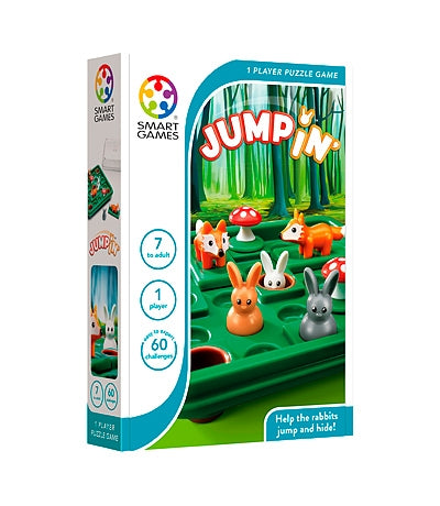 Jump In  - Smart Games 1 Player Puzzle Game 7 to Adult
