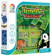 Jungle Hide and Seek - Smart Games 1 Player Puzzle Game