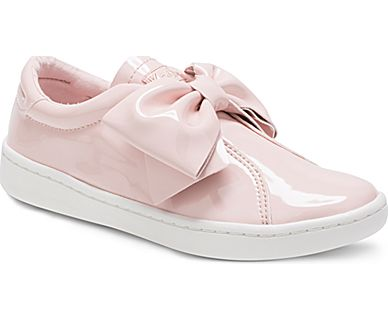 Keds Ace Bow Junior Blush Slip on Shoes