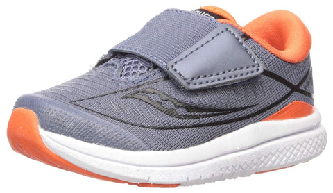 Saucony Kinvara 10 Junior Grey  / Orange Running Shoes