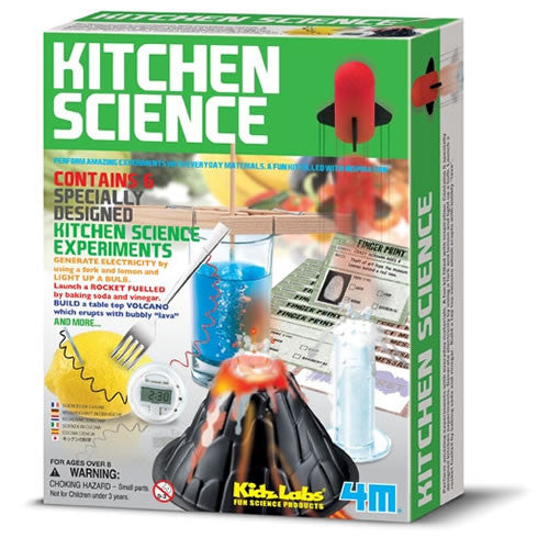 Kitchen Science Kit by Kidz Labs