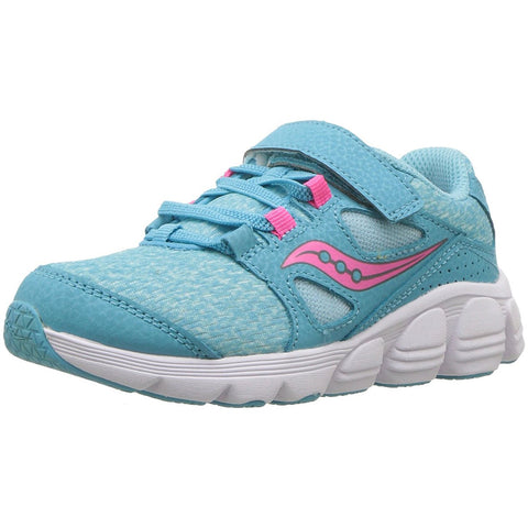 Saucony Kotaro 4 AC Sneaker with Velcro - Turquoise / Pink