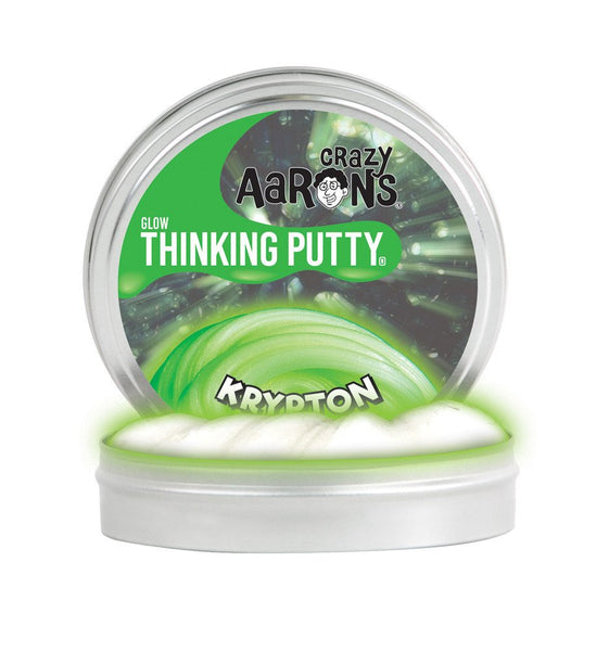 "Crazy Aaron's Thinking Putty - Glow in the Dark ""Krypton"""