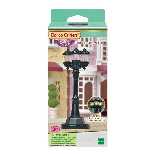 Calico Critters Town Series - Light up Street Lamp