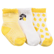 Robeez Infant Socks - Lemonade