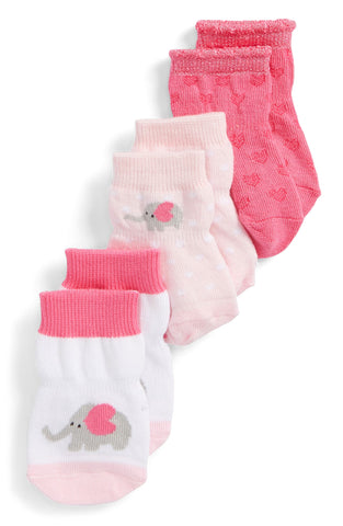 Robeez Infant Socks - Little Peanut Elephant Socks