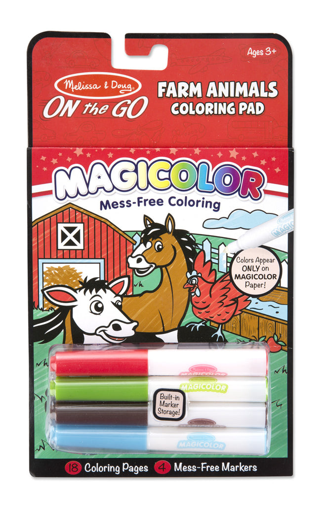 On the Go Magic Colouring Farm Animals