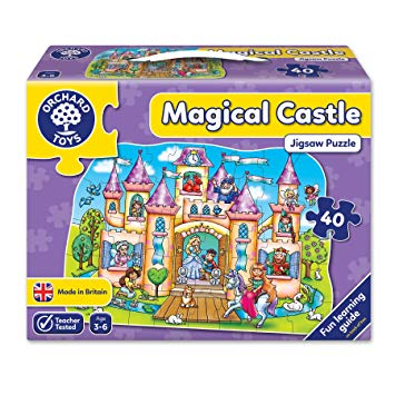 Magical Castle Jigsaw Puzzle - 40 Pieces by Orchard Toys