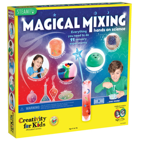 Magical Mixing - Hands on Science age 6+