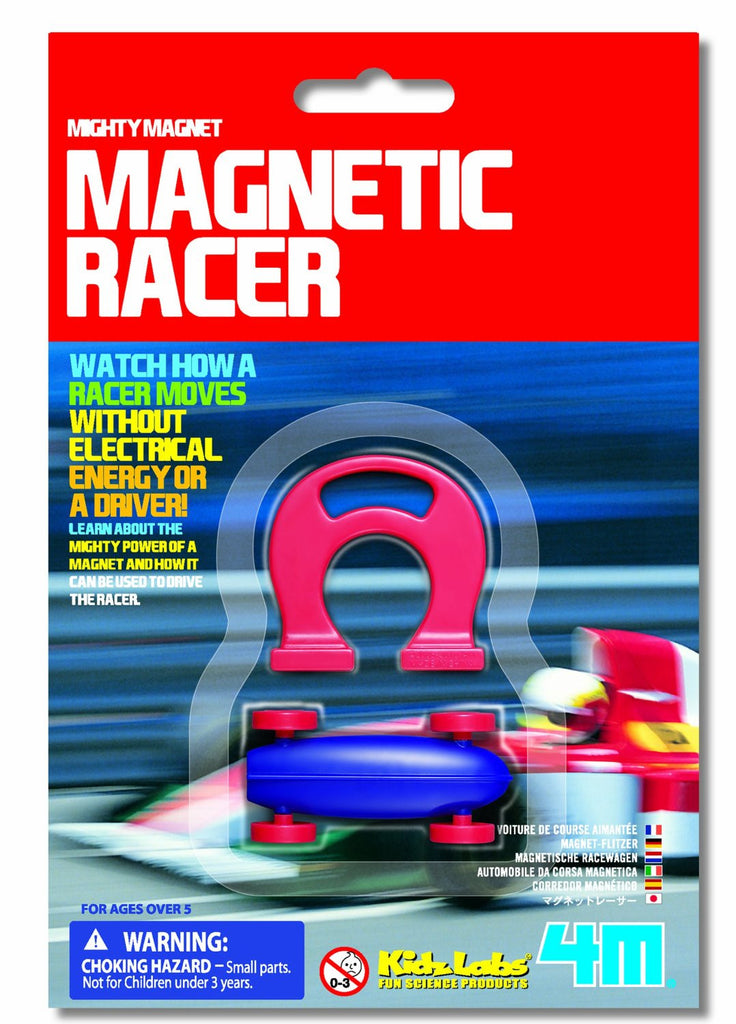 4M Magnetic Racer Car