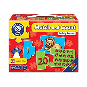 Match and Count First Counting Puzzle by Orchard Toys